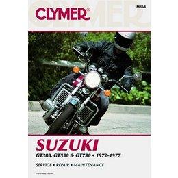 Clymer Repair Manual For Suzuki 380-750 Triples 72-77