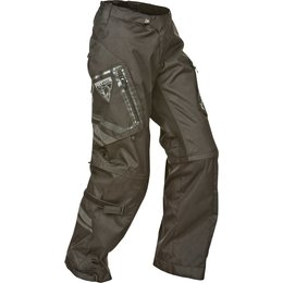 Black Fly Racing Mens Patrol Over-the-boot Convertible Textile Pants 2015 Us 30