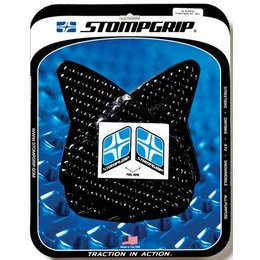 Stompgrip Traction Pad Tank Kit Black For Kawasaki ZX-6R ZX-6RR 55-10-0031B