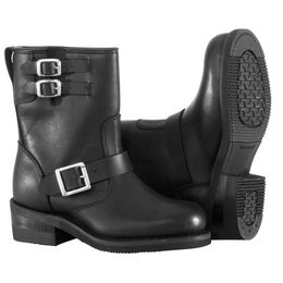 Black River Road Womens Twin Buckle Engineer Boots Us 8