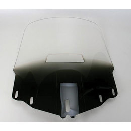 Memphis Shades Windshield Tall W/Hole Black For Honda GL1800
