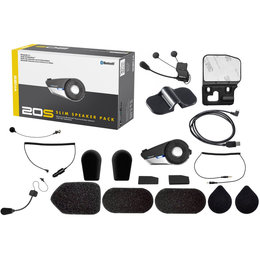 Sena 20S Motorcycle Bluetooth Communication System With Sim Speakers 20S-2 Unpainted