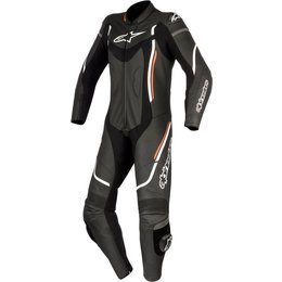 Alpinestars Womens Stella Motegi V2 1 Piece Leather Performance Riding Suit Black