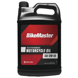 Bikemaster High Performance Motorcycle Oil 10W40 1 Gallon 532311 Unpainted