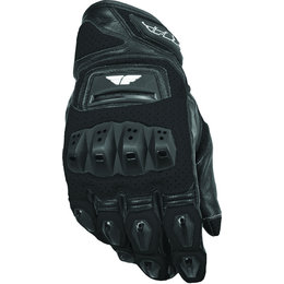 Black Fly Racing Mens Fl2-s Perforated Leather Gloves 2015