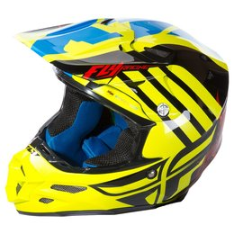 Fly Racing Carbon Weston Peick Replica MIPS Helmet Yellow