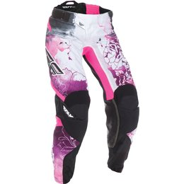 Fly Racing Youth Girls Kinetic Race Pants Pink