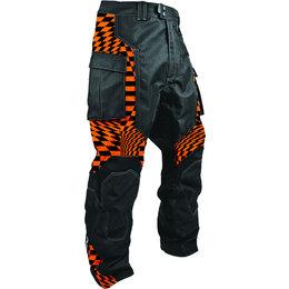 Orange Checker Hmk Mens Throttle Waterproof Snow Pants 2013