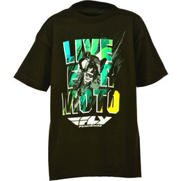 Black Fly Racing Toddler Boys Live For Moto T-shirt 2015 3t
