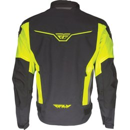 Fly Racing Mens Strata Armored Textile Jacket Yellow