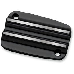 Covingtons Finned Clutch Master Cylinder Cover Harley Milwaukee 8 Black C1177-B Black