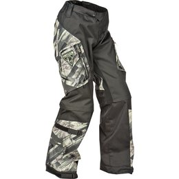 Camo Fly Racing Mens Patrol Over-the-boot Convertible Textile Pants 2015 Us 32