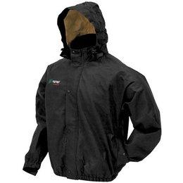 Black Frogg Toggs Bull Frogg Rain Jacket Ps63172-01sm