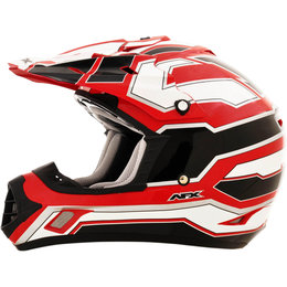 AFX FX17 Works Motocross Helmet Red