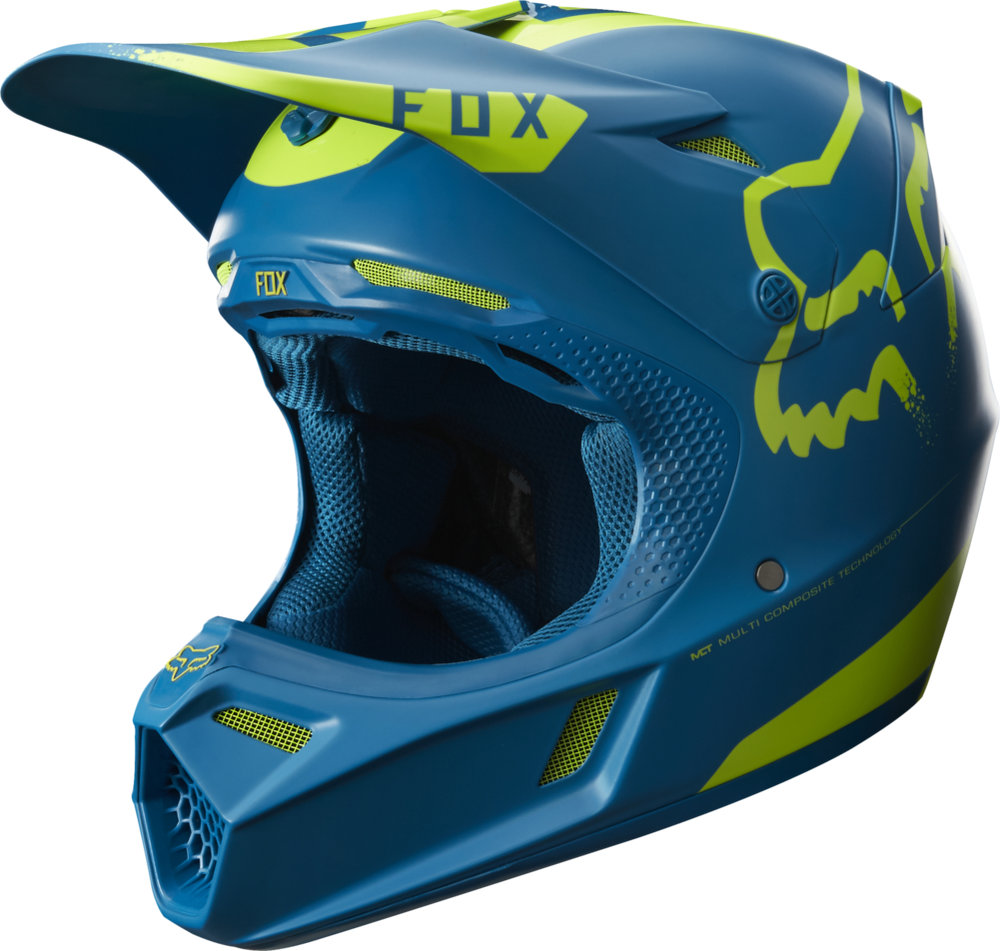 fox racing v3 moth limited edition mx helmet 1063745. Black Bedroom Furniture Sets. Home Design Ideas
