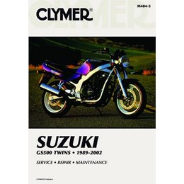 Clymer Repair Manual For Suzuki GS500 GS-500 Twins 86-02
