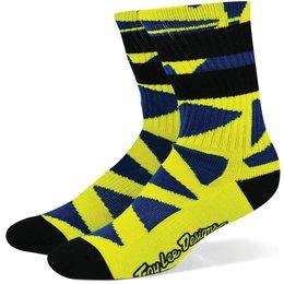 Troy Lee Designs Womens Edge Acrylic Crew Socks Yellow