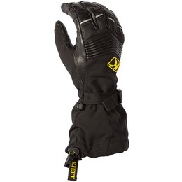 Klim Summit Gore-Tex Non-Insulated Liner Compatible Snowmobile Gloves Black