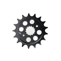 Driven 520 Sprocket 14 Teeth Front Steel Black For Kawasaki ZX Suzuki GSX-R Black