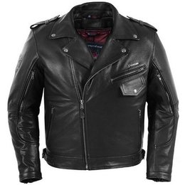 Black Pokerun Outlaw 2.0 Leather Jacket