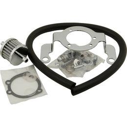 HardDrive Air Cleaner Bracket/Breather Kit Complete For Harley-Davidson 120040 Black