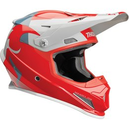 Thor Sector Shear Helmet Red