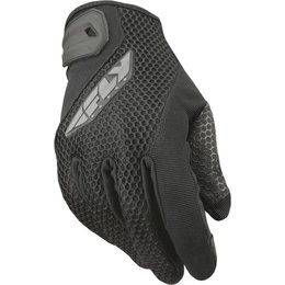 Fly Racing Mens Coolpro II Mesh Gloves Black