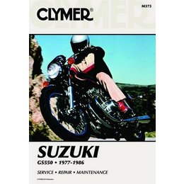 Clymer Repair Manual For Suzuki GS550 GS-550 77-86