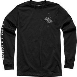 Thor Mens Faded Long Sleeve T-Shirt Black