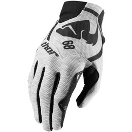 Thor Mens Void Plus Gasket Gloves Heather Grey