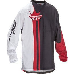 Fly Racing Mens Special Edition Ripa Convertible Jersey Black