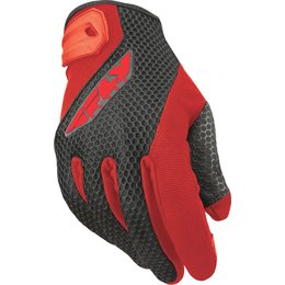 Fly Racing Mens Coolpro II Mesh Gloves Red
