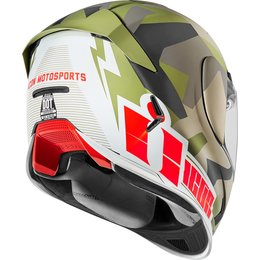 Icon Airframe Pro Deployed Full Face Helmet Green
