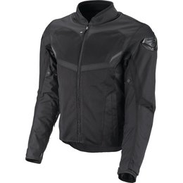 Fly Racing Mens Airraid Armored Textile Jacket Black