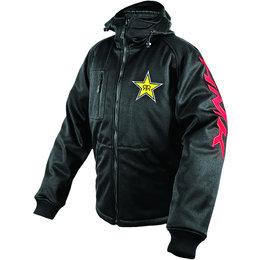 Black Hmk Mens Rockstar Hooded Tech Shell Jacket 2013