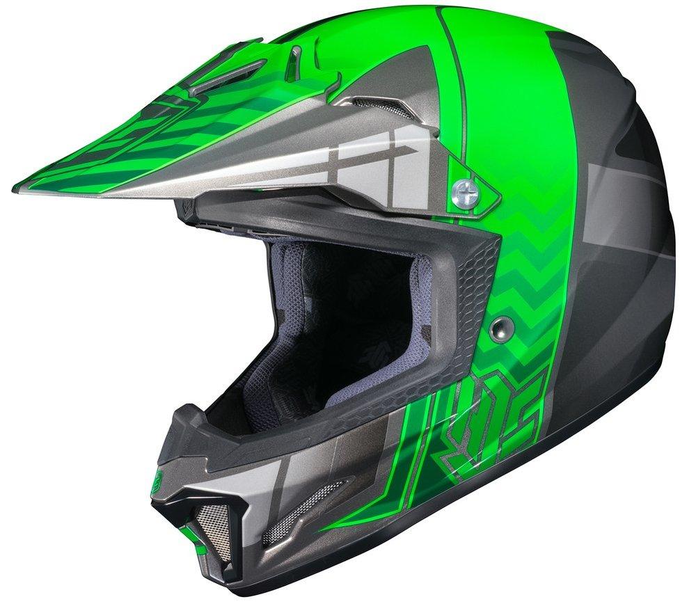 ... Gear Helmets Youth HJC Youth CL-XY 2 CLXY II Cross Up Motocross MX Off