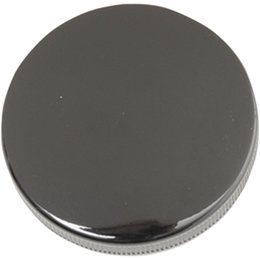 Drag Specialties Original Style Vented Gas Cap For Harley Gloss Black 0703-0547