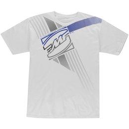 FMF Mens Crashbox T-Shirt White