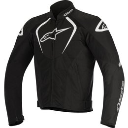 Alpinestars Mens T-Jaws Air Armored Textile Riding Jacket Black