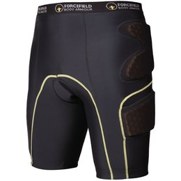 Forcefield Contakt CE Certified Armored Shorts Black