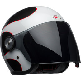 Bell Powersports Riot Boost Open Face Helmet White