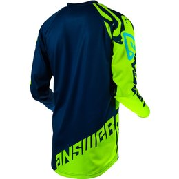 Answer Racing Mens Syncron Flow Jersey Blue