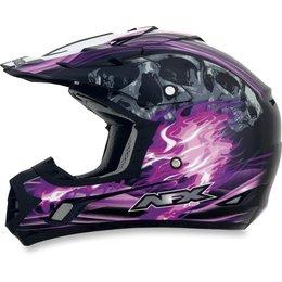 Black, Fuchsia Afx Womens Fx-17 Fx17 Inferno Helmet Black Fuchsia
