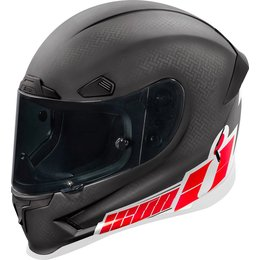 Icon Airframe Pro Flash Bang Full Face Helmet Red