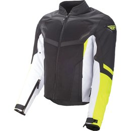 Fly Racing Mens Airraid Armored Textile Jacket Yellow