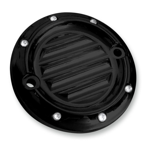 Covingtons Dimpled Points Cover For Harley Milwaukee 8 Black C1196-B