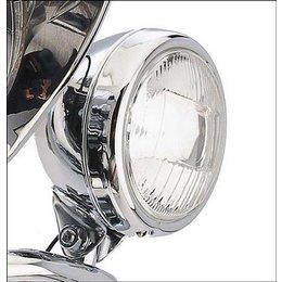 Cobra Spotlight Assembly Bullet Style Billet Chrome
