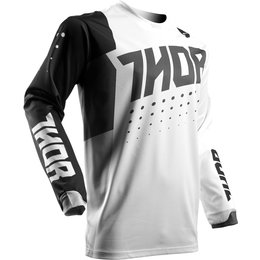 Thor Mens Pulse Aktiv Jersey White
