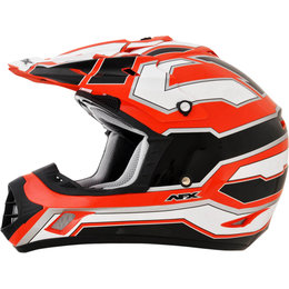 AFX FX17 Works Motocross Helmet Orange