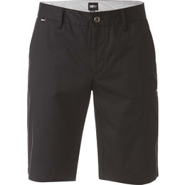 Fox Racing Mens Essex Pinstripe Cotton Blend Shorts Black